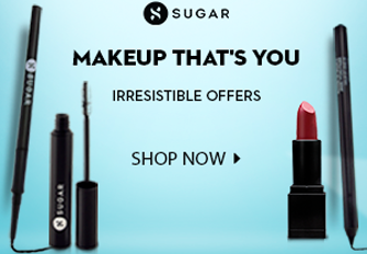 sugarcosmetics offers