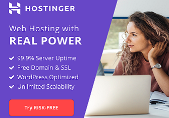 hostinger hosting sale