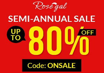 rosegal sale